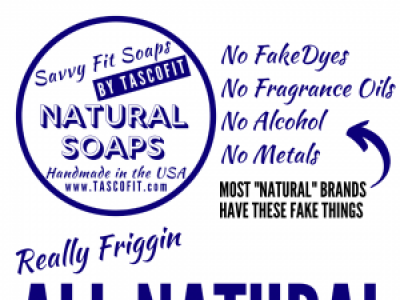 Savvy Fit Soaps - Really Frigging Natural Vegan Soaps